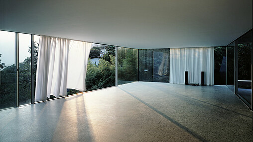 Large windows for rooms bathed in sunlight